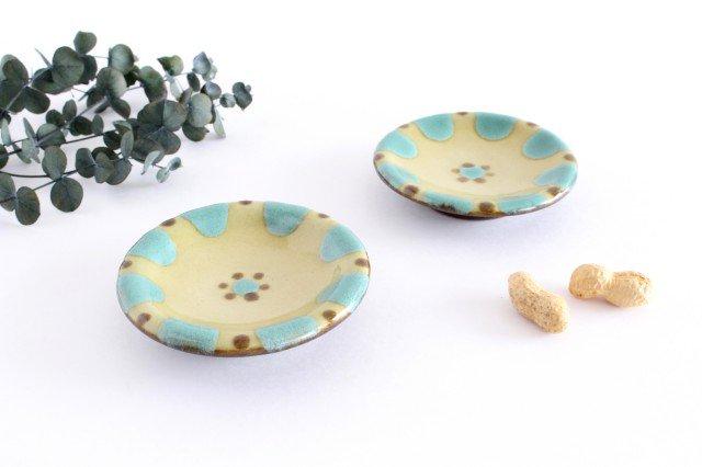 小皿 オーグスヤー 陶器 ノモ陶器製作所 やちむん 画像5