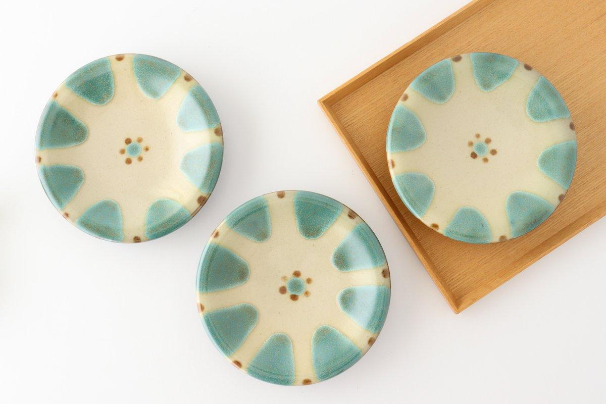 5寸皿 オーグスヤー 陶器 ノモ陶器製作所 やちむん 画像2