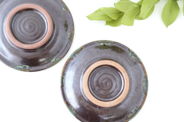 5寸皿 オーグスヤー 陶器 ノモ陶器製作所 やちむん 画像3