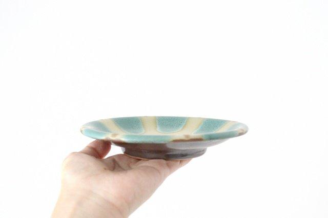 5寸皿 オーグスヤー 陶器 ノモ陶器製作所 やちむん 画像5