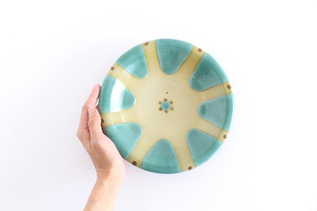 7寸皿 オーグスヤー 陶器 ノモ陶器製作所 やちむん 画像5