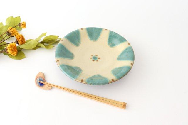 7寸皿 オーグスヤー 陶器 ノモ陶器製作所 やちむん 画像6