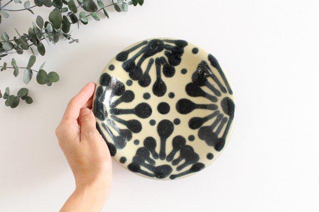 6寸皿 ゴス 陶器 ノモ陶器製作所 やちむん 画像5