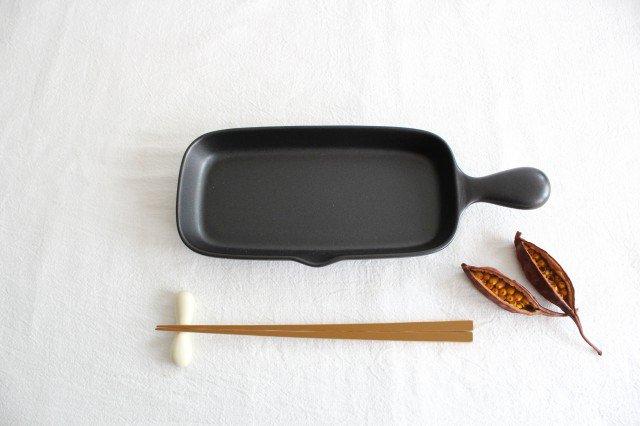 グリルプレート ハーフ 耐熱陶器 萬古焼  画像2