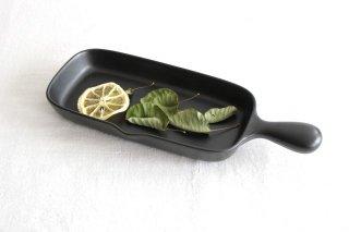 《耐熱陶器》萬古焼 グリルプレート ハーフ商品画像