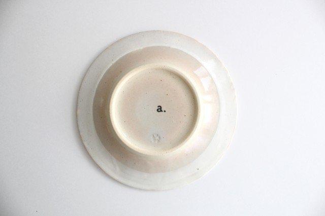 波佐見焼 ORIME ヘリンボーン 4寸丸皿 【B】 ホワイト 陶器 画像3