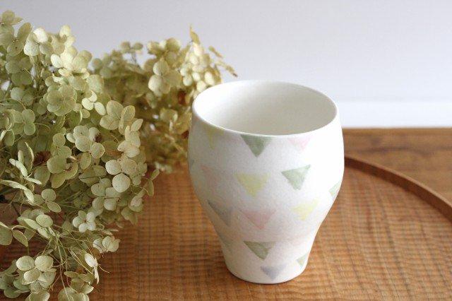 ガーランド つぼみカップ 【A】 磁器 中村かおり 画像2