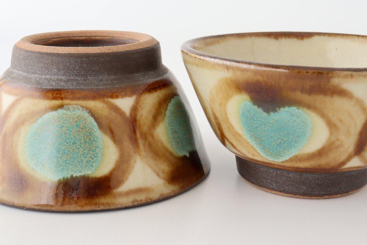 3.5寸マカイ アメ 陶器 ノモ陶器製作所 やちむん 画像3