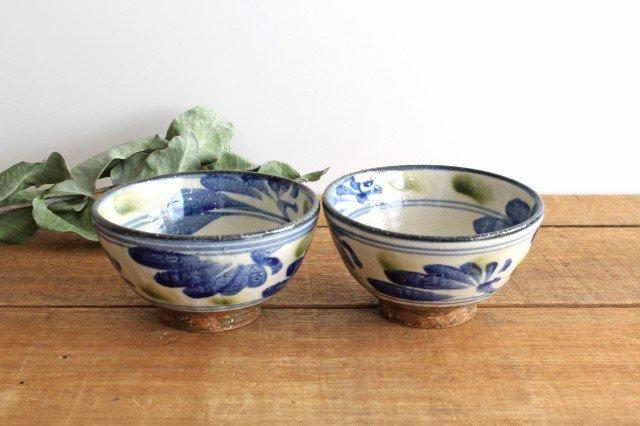 4寸マカイ 唐草 ゴスオーグスヤ 陶器 陶芸こまがた 駒形爽飛 やちむん 画像4