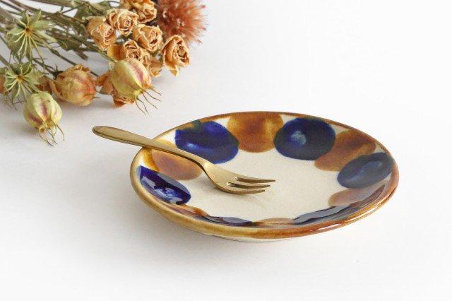 5寸皿 輪 陶器 土工房 陶糸 やちむん