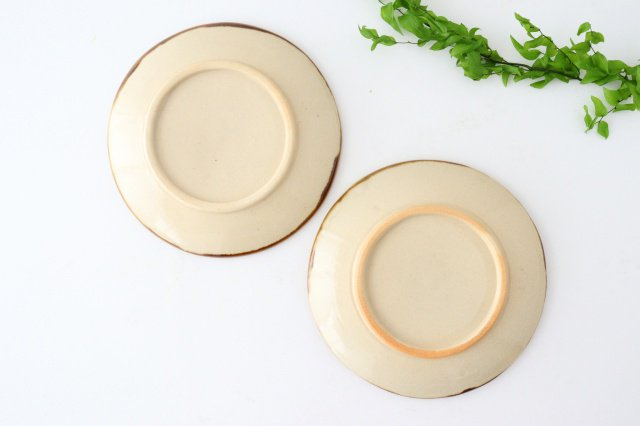 5寸皿 輪 陶器 土工房 陶糸 やちむん 画像3