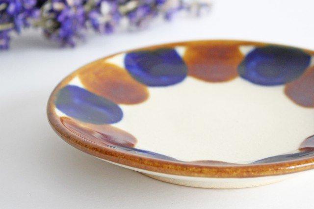 5寸皿 輪 陶器 土工房 陶糸 やちむん 画像4