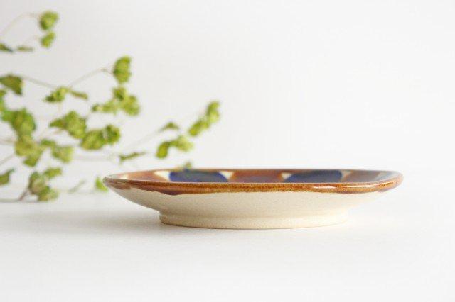 5寸皿 輪 陶器 土工房 陶糸 やちむん 画像5