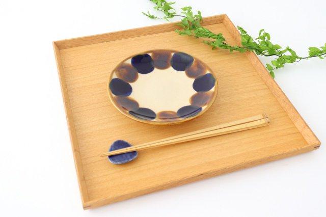 5寸皿 輪 陶器 土工房 陶糸 やちむん 画像6