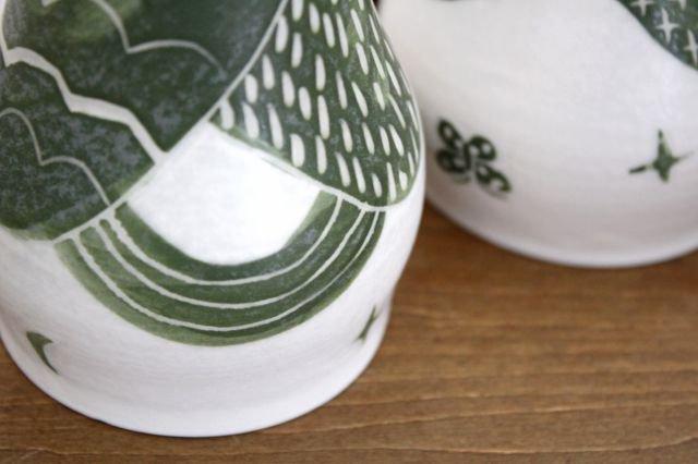 緑の丘 つぼみカップ 磁器 中村かおり 画像6