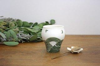 緑の丘 つぼみカップ 磁器 中村かおり商品画像