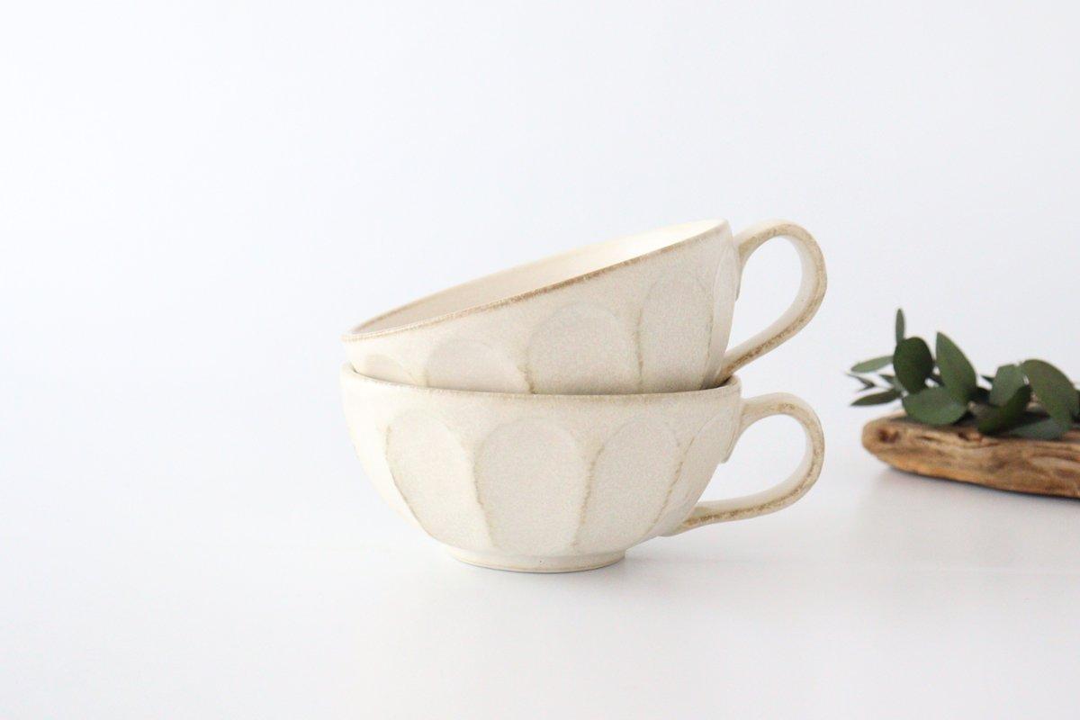 スープカップ 菊花 磁器 美濃焼 画像2