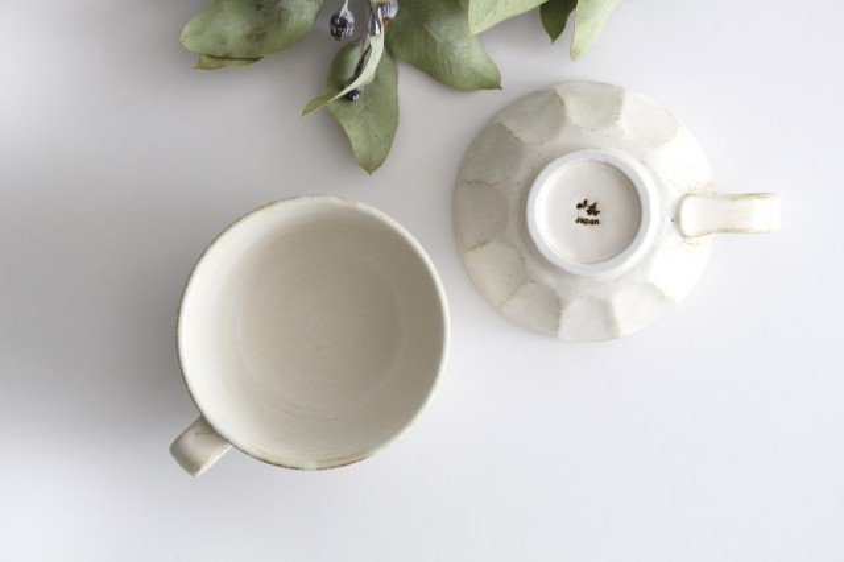 美濃焼 菊花 スープカップ 磁器 画像6
