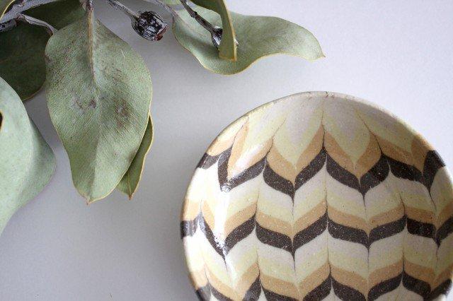 小鉢 羽根 黄色 陶器 陶芸工房ももねり。 草なぎ桃江 画像4