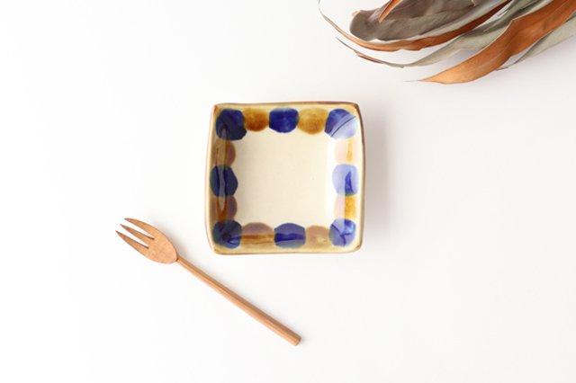 四角小鉢 輪 陶器 土工房 陶糸 やちむん
