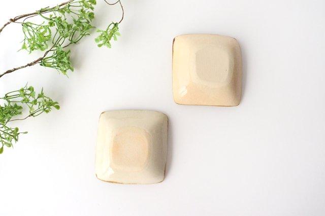 四角小鉢 輪 陶器 土工房 陶糸 やちむん 画像5
