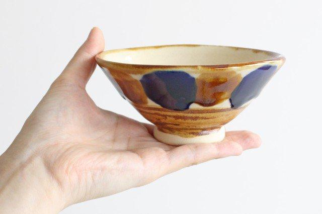 4寸マカイ 輪 陶器 土工房 陶糸 やちむん 画像3