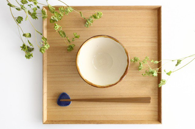 4寸マカイ 輪 陶器 土工房 陶糸 やちむん 画像6