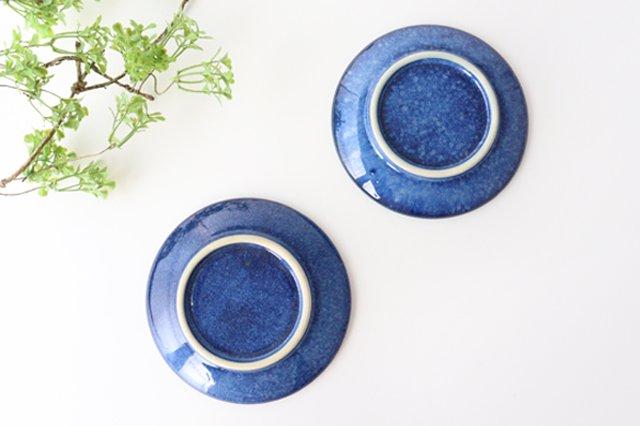 5寸皿 星 陶器 土工房 陶糸 やちむん 画像4