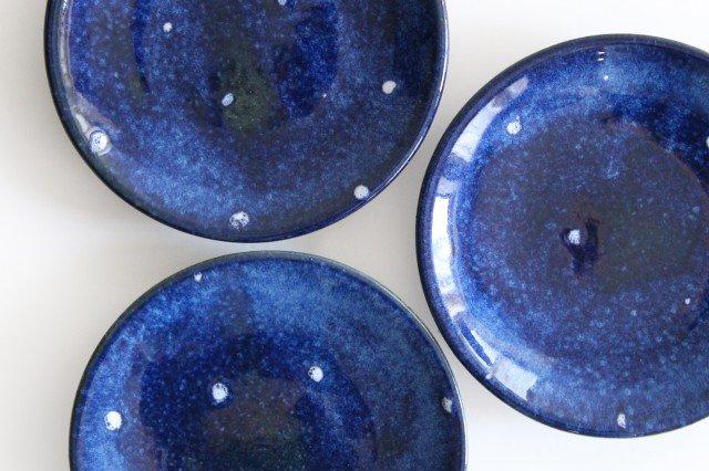 5寸皿 星 陶器 土工房 陶糸 やちむん 画像5