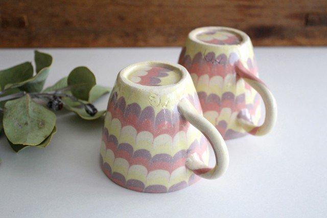 マグカップ うずら ピンク 陶器 陶芸工房ももねり。 草なぎ桃江 画像3