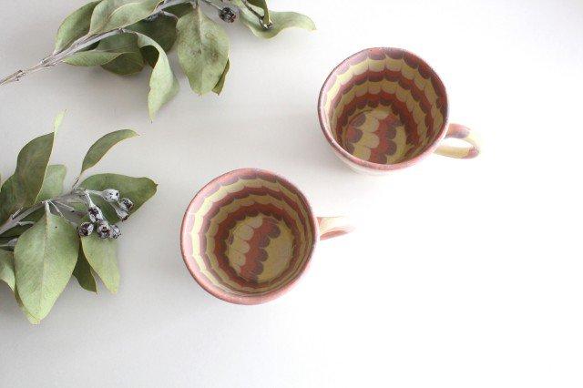マグカップ うずら ピンク 陶器 陶芸工房ももねり。 草なぎ桃江 画像4