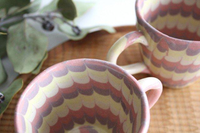 マグカップ うずら ピンク 陶器 陶芸工房ももねり。 草なぎ桃江 画像5