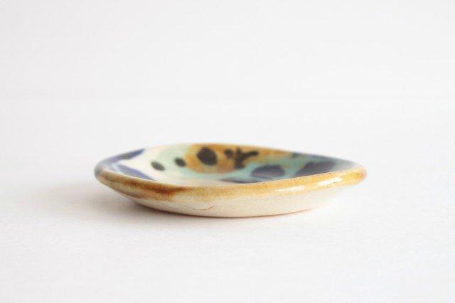 3.5寸皿 泡 陶器 土工房 陶糸 やちむん 画像3