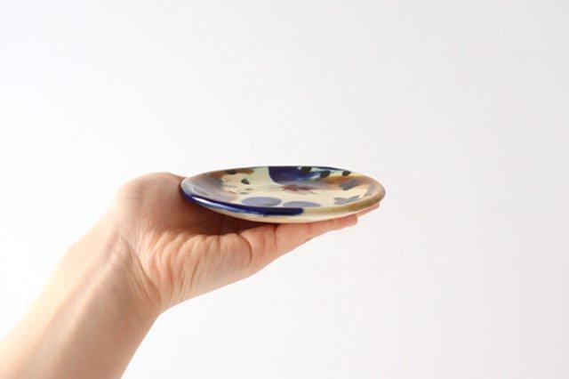 3.5寸皿 泡 陶器 土工房 陶糸 やちむん 画像5