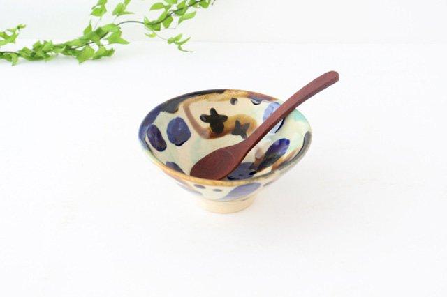 4寸マカイ 泡 【A】 陶器 土工房 陶糸 やちむん