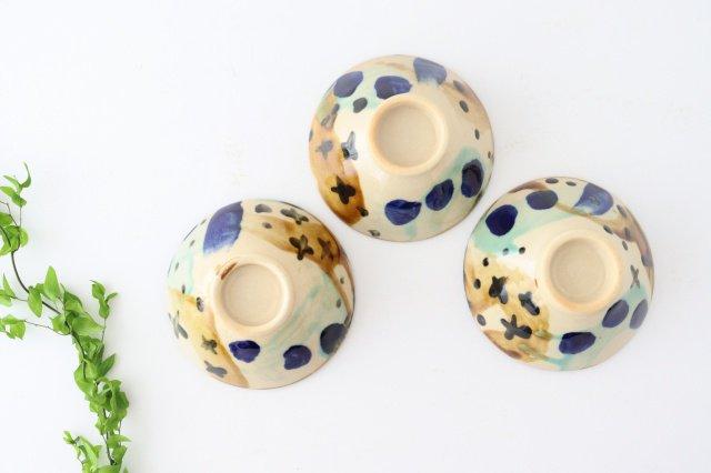 4寸マカイ 泡 【A】 陶器 土工房 陶糸 やちむん 画像3