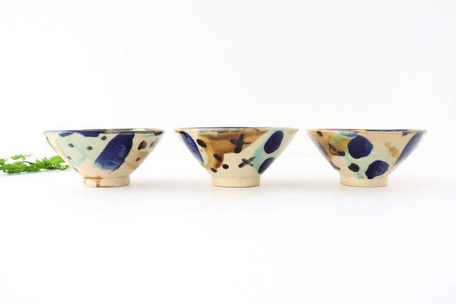 4寸マカイ 泡 【A】 陶器 土工房 陶糸 やちむん 画像6