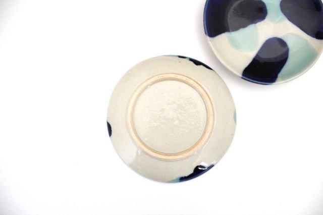 5寸皿 海 【B】 陶器 土工房 陶糸 やちむん 画像3