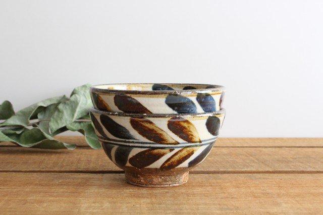 4寸マカイ デイゴ ゴスアメ 陶器 陶芸こまがた 駒形爽飛 やちむん 画像5