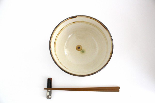 5.5寸マカイ ドット オーグスヤアメ 陶器 陶芸こまがた 駒形爽飛 やちむん 画像4