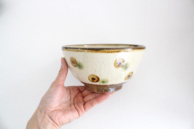 5.5寸マカイ ドット オーグスヤアメ 陶器 陶芸こまがた 駒形爽飛 やちむん 画像6