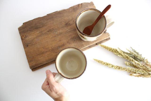 マグカップ ドット オーグスヤアメ 陶器 陶芸こまがた 駒形爽飛 やちむん 画像2