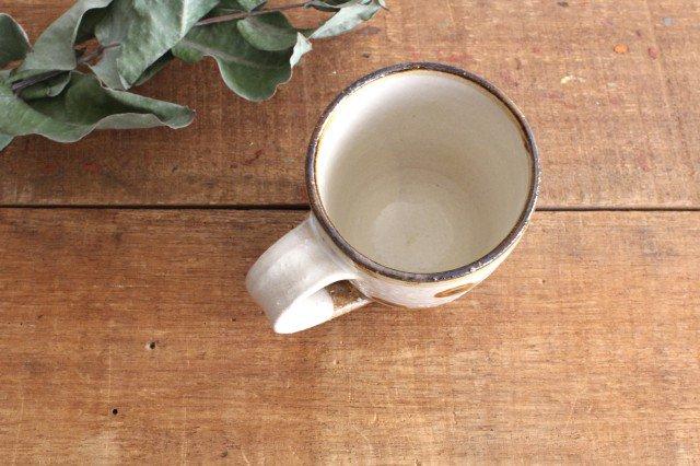 マグカップ ドット オーグスヤアメ 陶器 陶芸こまがた 駒形爽飛 やちむん 画像5