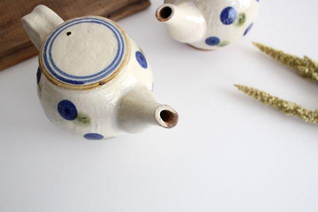 ポット ドット ゴスオーグスヤ 陶器 陶芸こまがた 駒形爽飛 やちむん 画像5