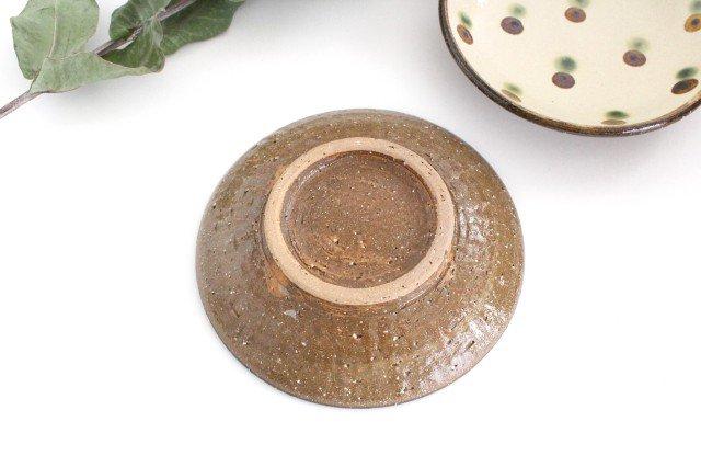 5寸皿 ドット オーグスヤアメ 陶器 陶芸こまがた 駒形爽飛 やちむん 画像6