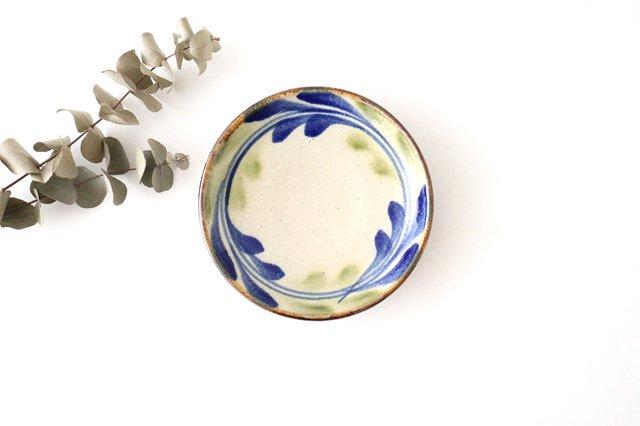 5寸皿 デイゴ ゴスオーグスヤ 陶器 陶芸こまがた 駒形爽飛 やちむん