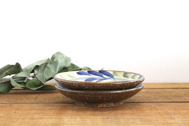 5寸皿 デイゴ ゴスオーグスヤ 陶器 陶芸こまがた 駒形爽飛 やちむん 画像2