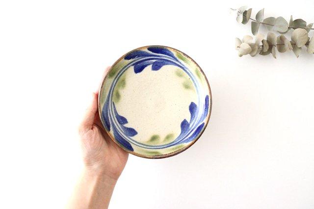 5寸皿 デイゴ ゴスオーグスヤ 陶器 陶芸こまがた 駒形爽飛 やちむん 画像3
