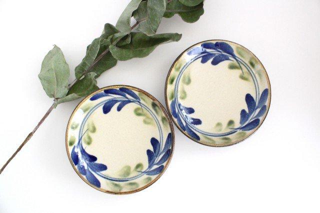 5寸皿 デイゴ ゴスオーグスヤ 陶器 陶芸こまがた 駒形爽飛 やちむん 画像4