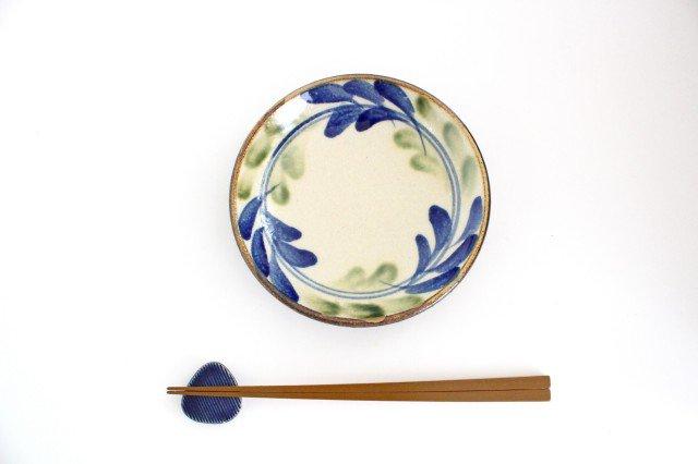 5寸皿 デイゴ ゴスオーグスヤ 陶器 陶芸こまがた 駒形爽飛 やちむん 画像6